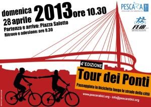 Volantino Tour dei Ponti 2013 Finale
