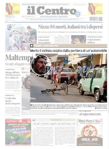 ILCENTRO-ciclista-morto-Montesilvano