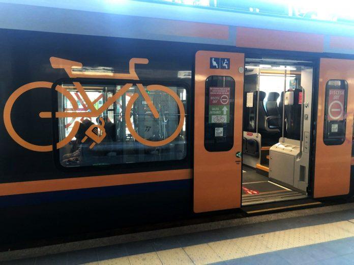 treno bici